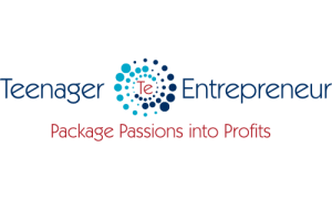 Teenager Entrepreneur Logo