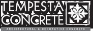 Tempesta Concrete Logo