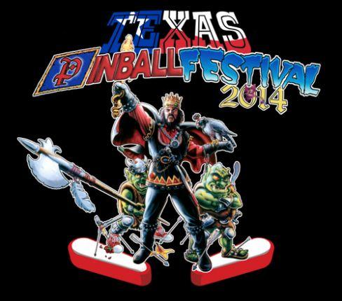Texas Pinball Festival Logo