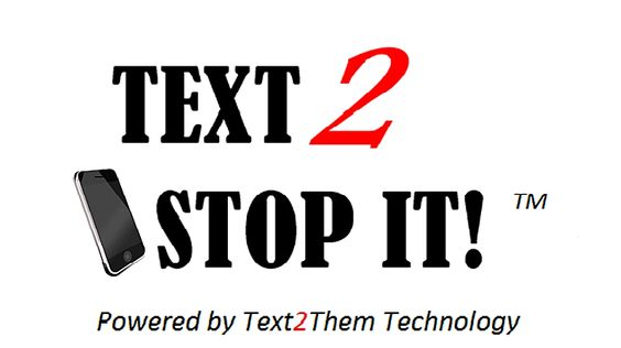 Text 2 Stop It Logo