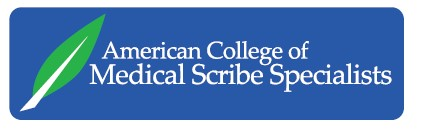 American College of Medical Scribe Specialists Logo