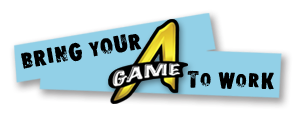 The A Game Logo