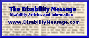 The Disability Message Logo
