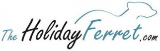 The Holiday Ferret Logo
