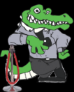 The Later Gator Logo