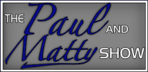 The Paul and Matty Show Logo