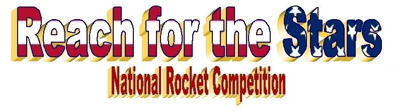 Reach for the Stars ~ National Rocket Competition Logo