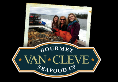 The Van Cleve Seafood Co. Logo