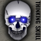 Thinking Skull Logo