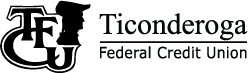 Ticonderoga Federal Credit Union Logo