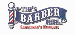 Tims Barber Shop Logo