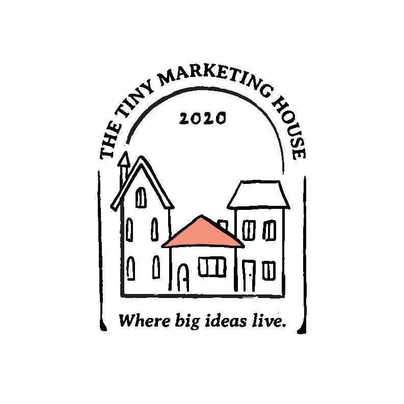 The Tiny Marketing House Logo
