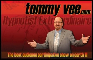 Tommy Vee Productions, Inc. Logo