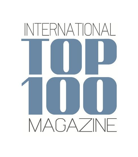 The Top 100 Magazine Logo