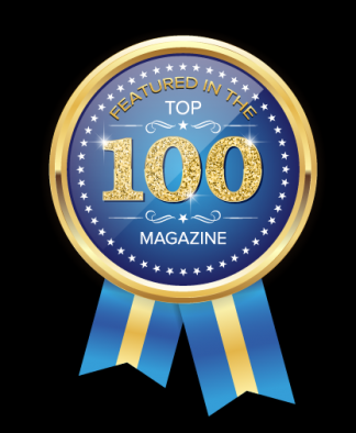 Top 100 Magazine Logo