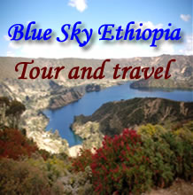Blue sky Ethiopia tour and Travel Logo