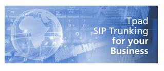 Tpad Ltd | Telephone Systems and SIP Trunking Logo