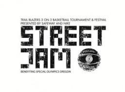 Trail Blazers Street Jam Logo