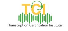 Transcription Certification Institute Logo