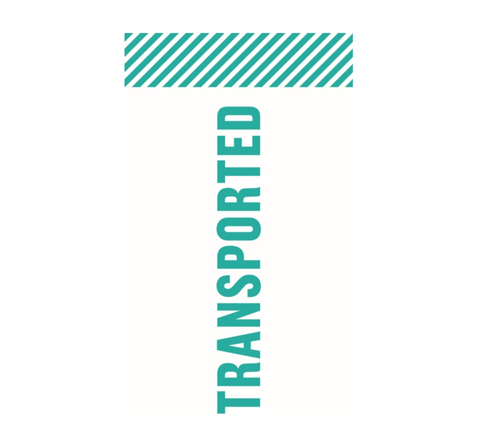 Transported Logo