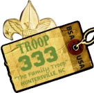 Boy Scout Troop 333 - a flexible homeschool troop Logo