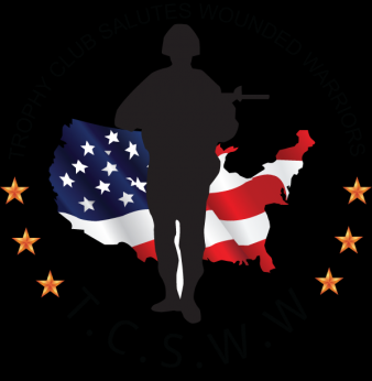 Trophy Club Salutes Wounded Warriors, Inc.b Logo