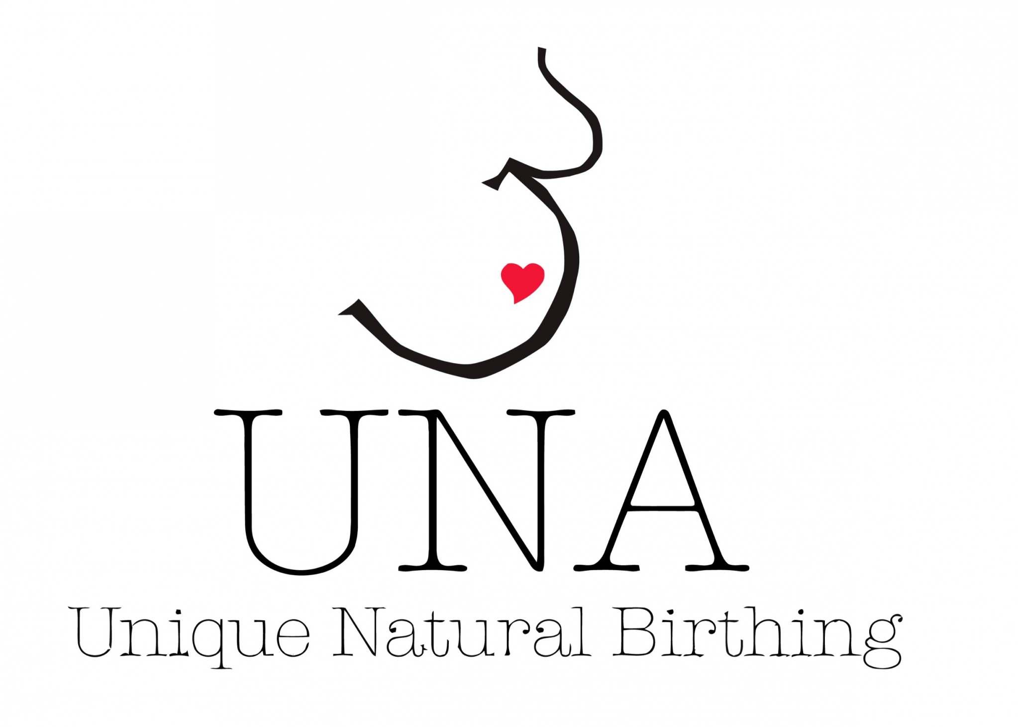 Unique Natural Birthing Logo