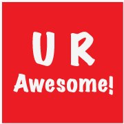 U R Awesome Inc. Logo