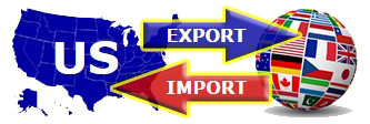 US export and import Logo