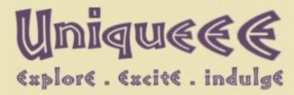 UniquEEE Art Gallery Logo