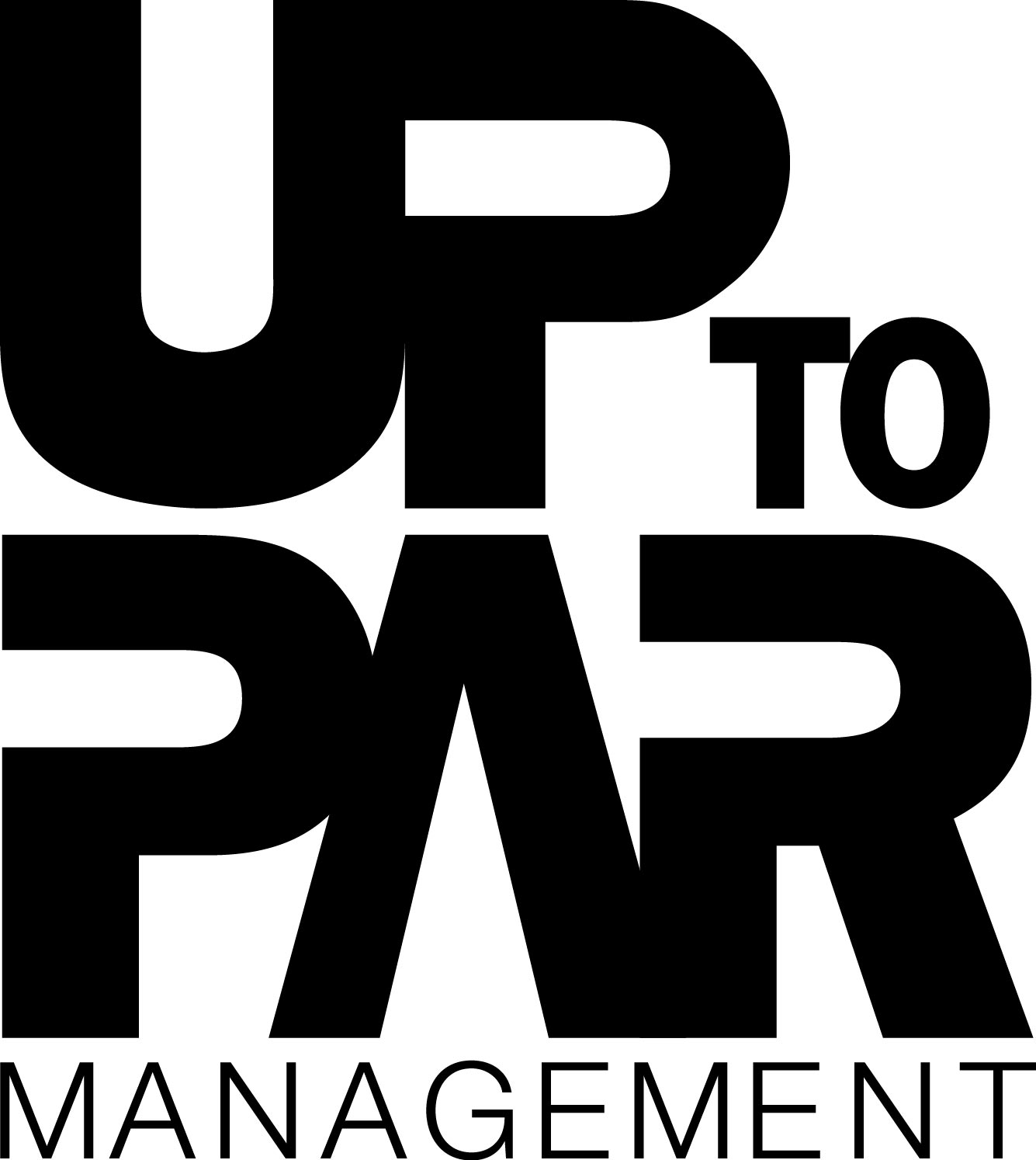 Up to Par Management Logo