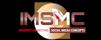 Internet Marketing Social Media Concepts Logo