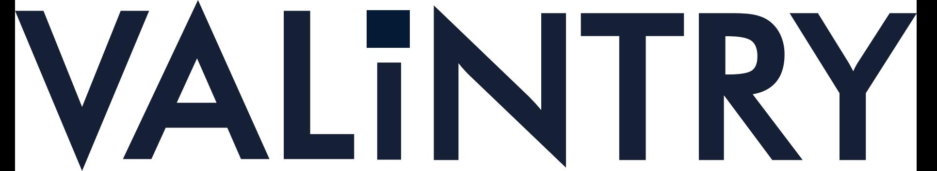 VALiNTRY Logo