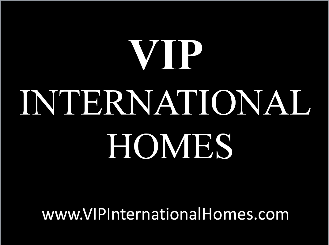 VIP International Homes Logo