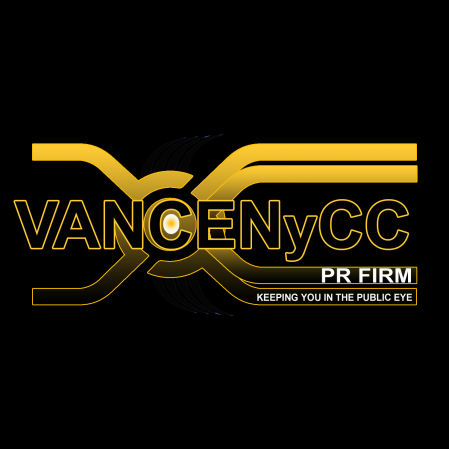 Celebrity Publicist Cece Vance & VanceNyCC PR Firm Logo