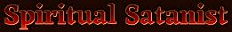 Spiritual Satanist Logo