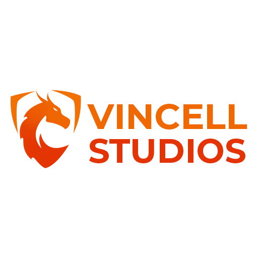 Vincell Studios Inc. Logo