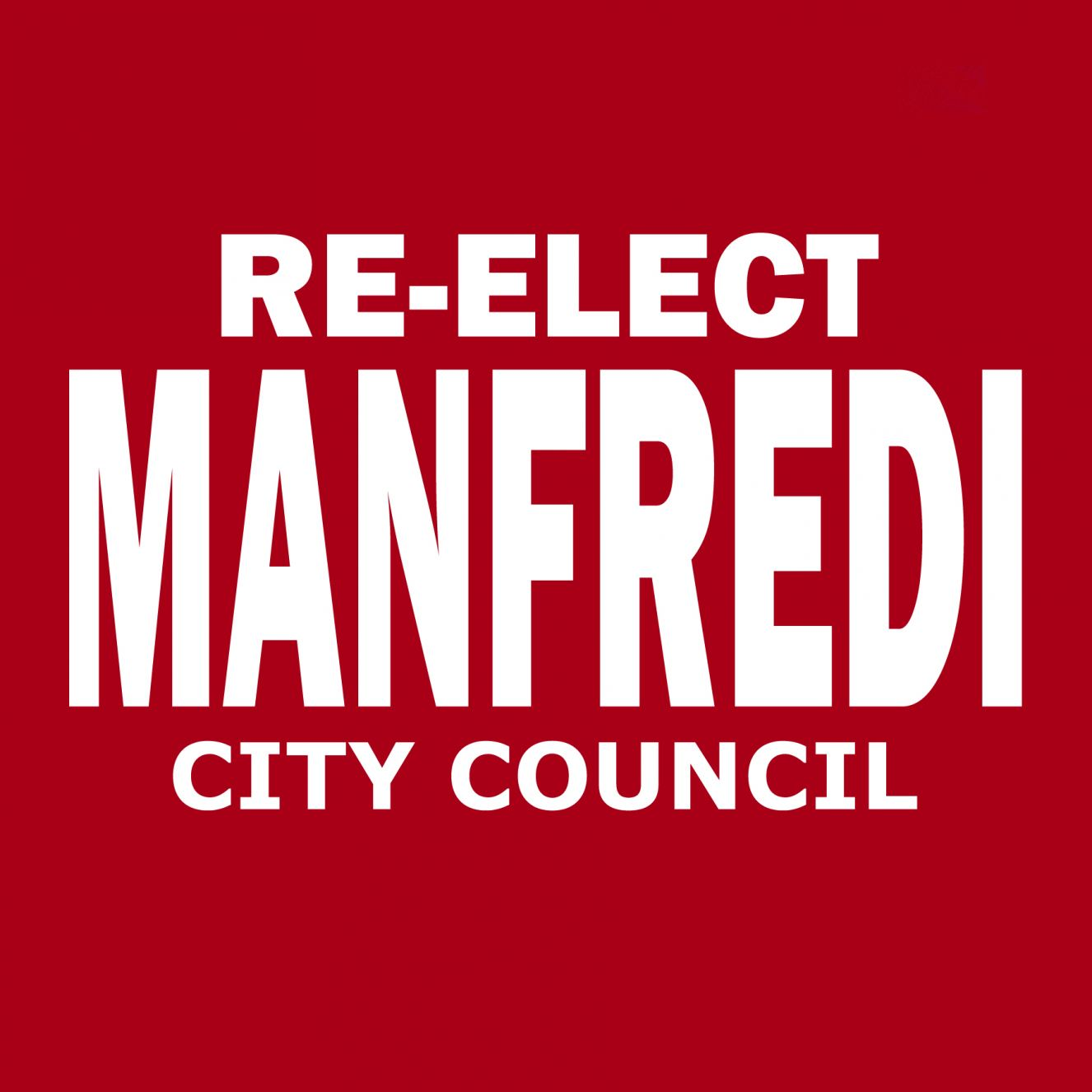 Manfredi for Maricopa City Council Logo