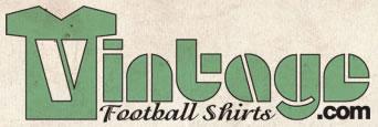 Vintage Football Shirts Logo