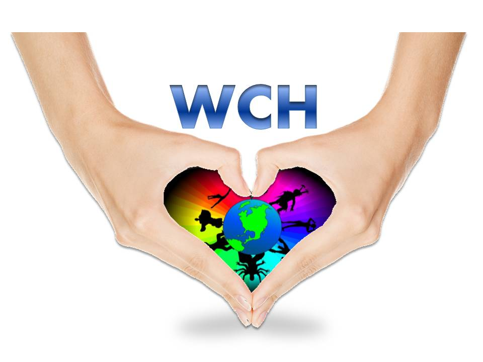 WE CARE FOR HUMANITY Logo