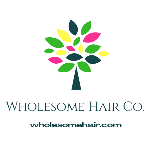 Wholesome Hair Co. Logo
