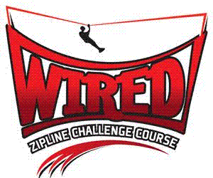 WIRED Zip Line Challenge Course Logo