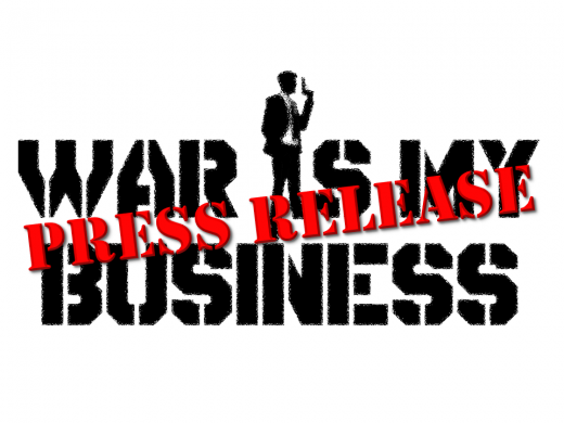 War Is My Business Logo