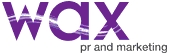 Wax PR and Marketing Logo