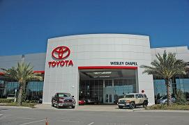 Buy A Toyota In Tampa Florida At Wesley Chapel Toyota