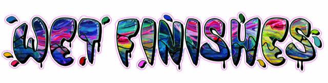 Wet Finishes Logo