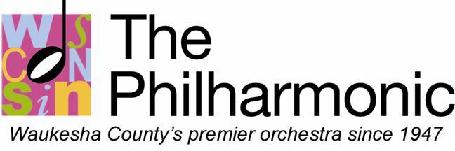 The Wisconsin Philharmonic Logo