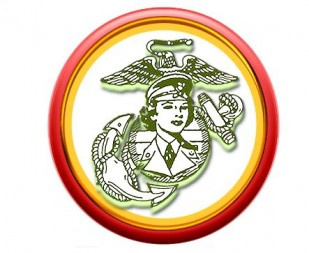 Women Marines Association Logo