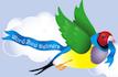 Word Bird Delivers Logo