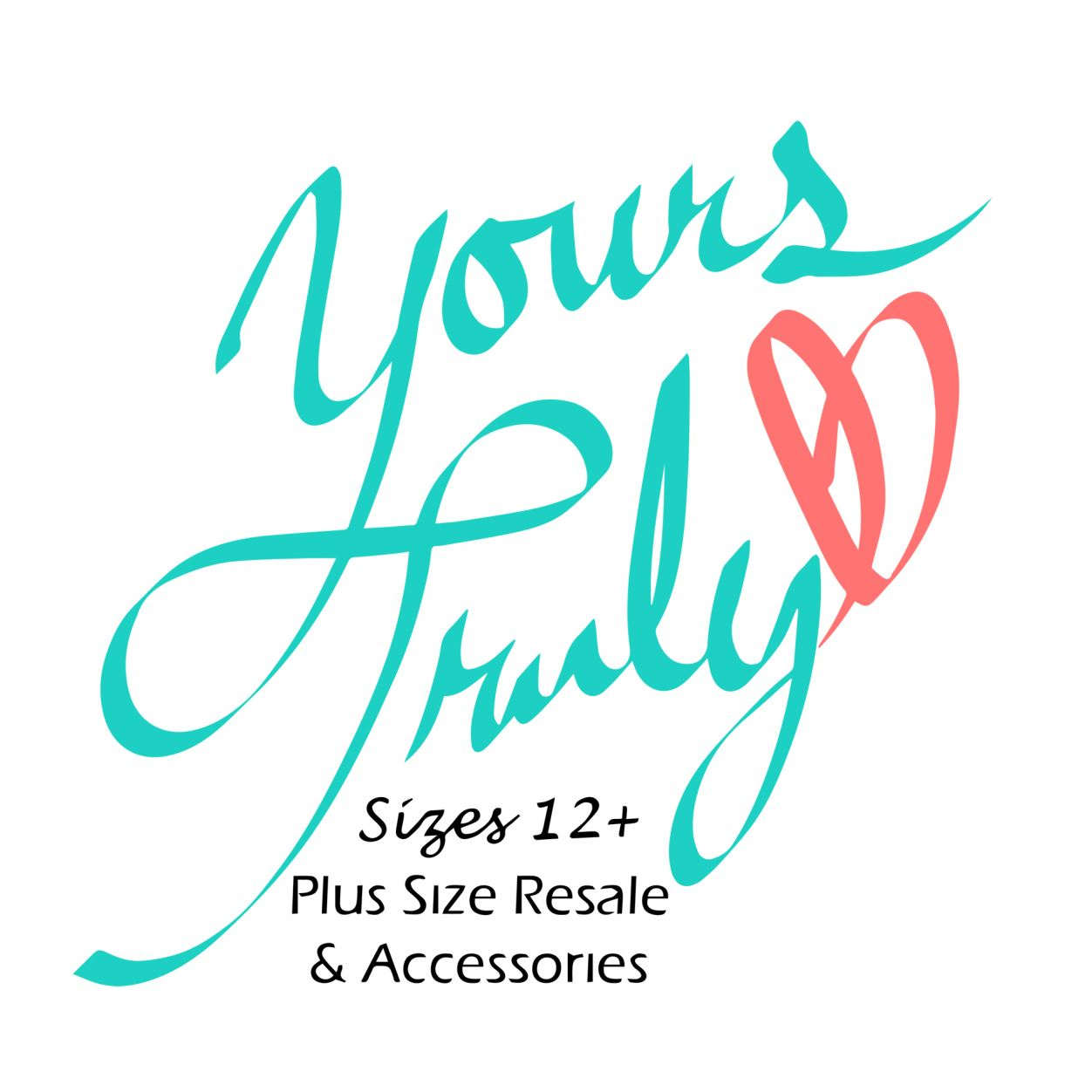 Yours Truly Plus Size Resale Logo
